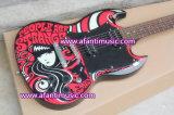 Guitarra eléctrica de Fretboard Afanti del palo de rosa (ASG-538)