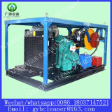 Fabricación profesional de la máquina enorme del producto de limpieza de discos del dren de la máquina de la limpieza del dren de 100-1000m m