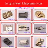 Chiudere per la serratura di girata della serratura della pressa della serratura di torsione degli accessori del sacchetto di modo del contenitore di pattino dei bagagli della borsa del sacchetto