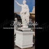 Marmeren Standbeeld Mej.-913 van Metrix Carrara van het Standbeeld van het Graniet van het Standbeeld van de Steen van het Standbeeld