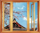Neuer Entwurfs-Hurrikan-Auswirkung-Ton-Beweis /Water fest/Staub-beständiges Aluminiumprofil-Flügelfenster-Fenster für Wohn- und Handelshaus (ACW-033)