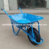 青いカラー美しい構築のWheelbarow /Wheelの手押し車(WB5009)