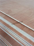 pegamento combinado grado de la base E1 de la madera contrachapada BB/CC de 9m m Okoume