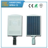 15W Solar LED Street Light met Sensitive Montion Sensor