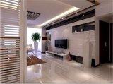 マルチカラーTVの背景のためのシルクスクリーンによって印刷されるガラス壁TVのホーム装飾ガラス
