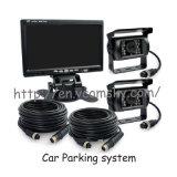 "Kit reverso de la cámara del coche (monitor de 7 "" TFT LCD + 2 cámaras de reserva)"