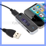 3.5mm Jack Auto Car FM Transmitter für All Smartphones (FM-01)