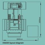 Alta precisión CNC EDM de alambre servo Molibdeno (HA630)