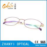 Blocco per grafici di titanio di vetro ottici di Eyewear del monocolo dell'ultimo Pieno-Blocco per grafici di disegno per la donna (9303)