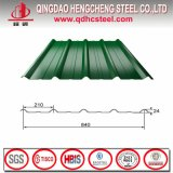 Color Coated Corrugated Metal Roofing Sheet Price