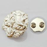 Metallkarikatur-Auto-Abzeichen des Entwurfs-3D