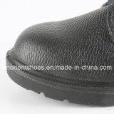 Zapatos de seguridad profesionales del cuero grabado RS8009