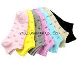 Madame faite sur commande Ankle Boat Socks de polyester de coton de ventes en gros