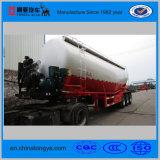 De bulk Semi Aanhangwagen van de Tank van het Cement met de Compressor van de Dieselmotor en van de Lucht