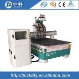 Machine de découpage en bois de commande numérique par ordinateur d'Atc de cylindre chaud de vente