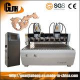 Teste multi & multi assi di rotazione, macchina del router di CNC di falegnameria