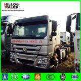 Sinotruk HOWO 6X4 371HP Euro2の放出索引車のトラック/トラクターのトラック