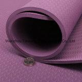Estera de goma de la yoga del resbalón de /EVA/TPE/PVC de la naturaleza dual anti respetuosa del medio ambiente cómoda del color