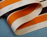 Geteerde zeildoek van de Stof van de Polyester van Oxford van de Stof van de Strepen van de kleur het Waterdichte Textielpvc Met een laag bedekte