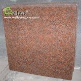 Плитка плакирования 600X600 стены естественного красного гранита G562 Китая Polished поверхностная