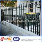 Frontière de sécurité enduite personnalisée par usine en métal de poudre de qualité avec le type moderne