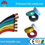 Aislamiento de PVC de bajo voltaje automático del cable, alambre sólido individual