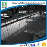 Construction de hangar de bâti de structure métallique