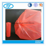 Мешок отброса отхода пластмассы PE цветастый