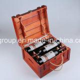 Cassa riciclata francese di vendita calda di legno dei semi del ferro dell'annata