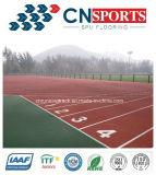Пол зерен EPDM резиновый для идущих следа/спортивной площадки