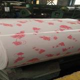 Feuille rouge de la fleur PPGI de pivoine de constructeur de la Chine dans les bobines