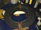 mangueira de borracha hidráulica reforçada SAE100r17 do fio 3000psi de aço