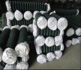 cerco Chain revestido do fio do PVC do furo 2inch