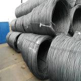 건축재료 (SAE1006 SAE1008)를 위한 큰 재고 열간압연 철사 로드