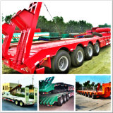 Semi Trailer Expert 2 rimorchio di Low Bed dei 3 4 assi