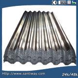 Hoja de acero de la onda durable para el material para techos y la albañilería