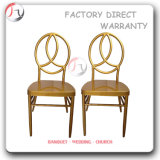 Metal Golden Painting Wedding Banqueting Dining Phoenix Chair (AT-184)