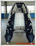 Bateau gonflable de ponton avec l'étage en aluminium (FWS-D360)