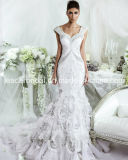 Cristal Vestido de Noiva Vestido de Noiva Mermaid Bridal Wedding Gown Ld11533