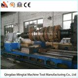 Torno horizontal popular do CNC de China para girar o cilindro de 15 T (CG61200)