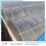 Clarabóia plana da folha FRP do policarbonato da estufa da clarabóia da telhadura