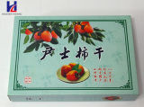 Frutos secos de la impresión en color y rectángulo de empaquetado del embalaje del regalo del alimento