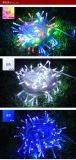Wasserdichtes 220V 32.8FT 10m 100 LED String Light für Christmas WeihnachtsHochzeitsfeste Halloween Decoration Light Free Shipping zu uns Europa usw.