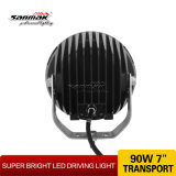 7inch 9 LED 크리 말 Hot Headlight Offoad Driving Light (SM6062-90A)
