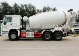 HOWO 9m3のドライブの種類6X4 Zz1257n3841Wのミキサーのトラック
