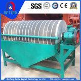 粉材料の分離器のためのCtyシリーズ強い力のぬれたドラムか熱い販売のドラム磁気分離器