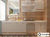 Armadio da cucina di legno dell'hotel dell'isola domestica moderna spagnola UV della mobilia