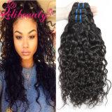 Ранг человеческих волос 7A волос волны воды оптового Weave волос перуанская естественная
