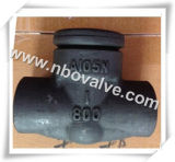Alzare il tipo la valvola di ritenuta d'acciaio della forgia (H61H-Class 800)