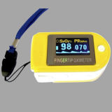 De medische Impuls Oximeter van de Vingertop